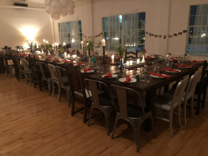 Blanche Agency Produces 40th birthday party